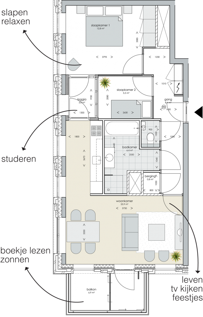 square - appartementen amsterdam, Deco ideeën
